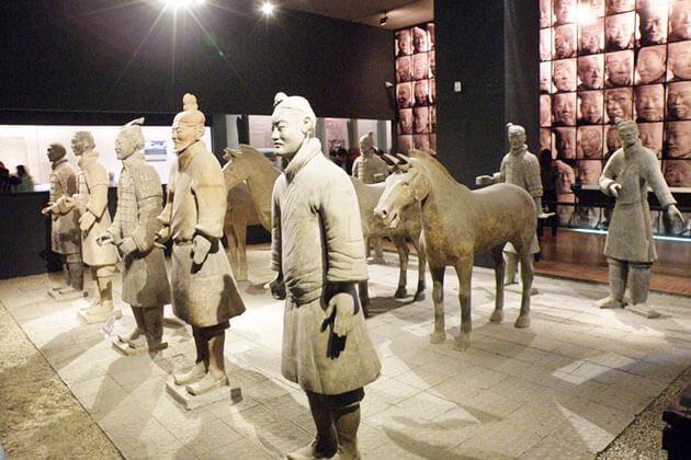 Shaanxi History Museum in Xian, China