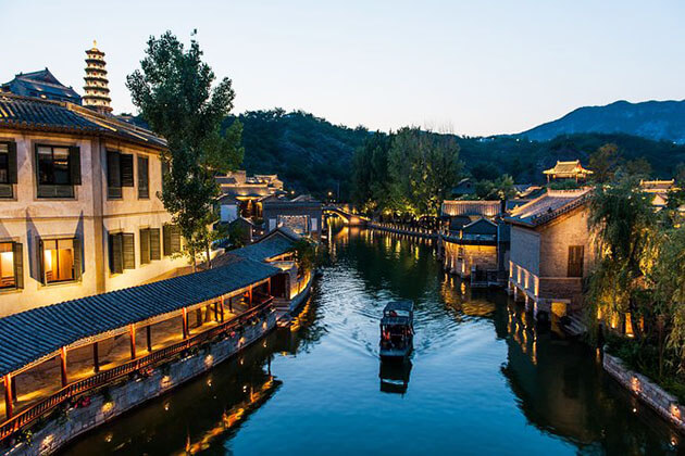 Spectacular view of Guibei Water Town