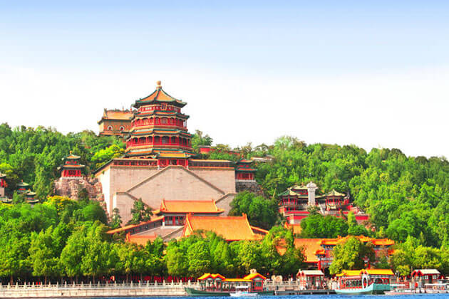 Spectacular view of Summer Palace in Beijing
