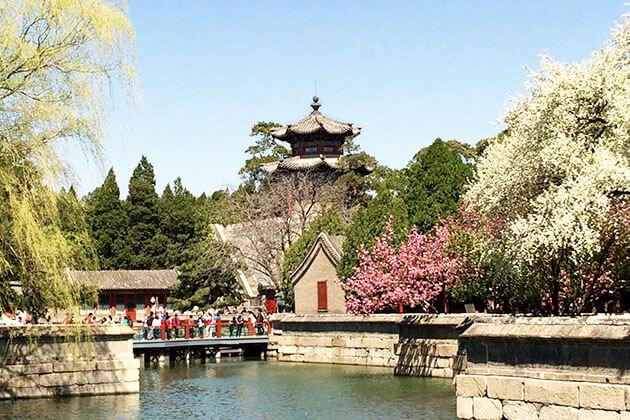 Spring at the Summer Palace, China
