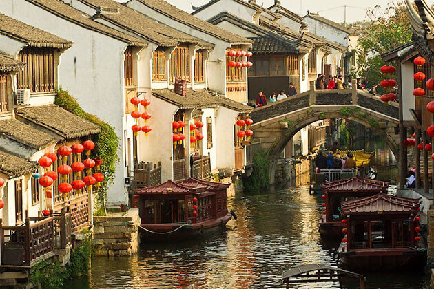 Suzhou Grand Canal from China Family Tour