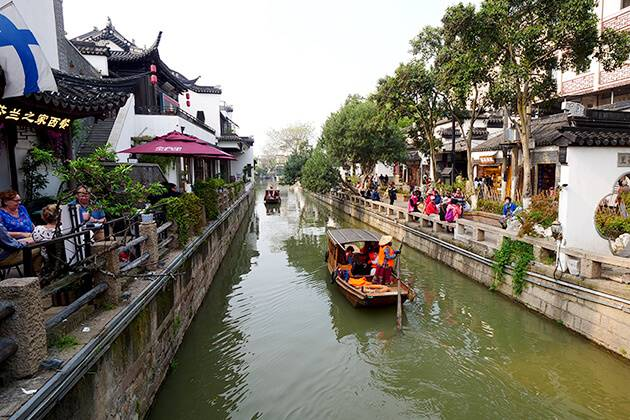 Taking Canal and River Trips from China tour