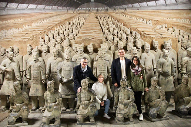Terracotta Warriors Museum visiting from China Family Tour