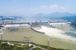 Three Gorges Dam in Yichang