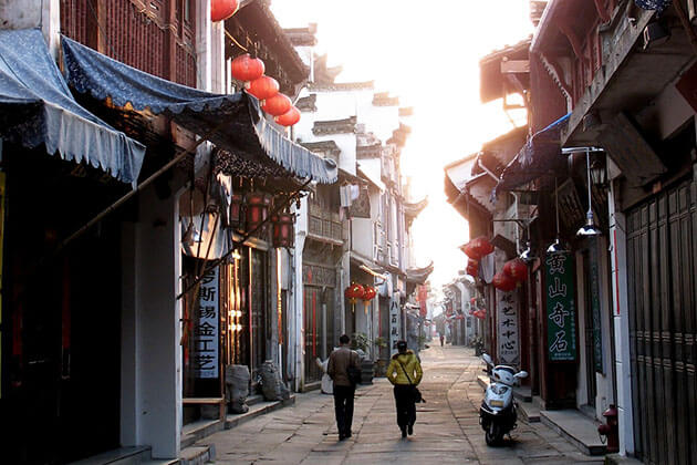 Tunxi Ancient Street in China