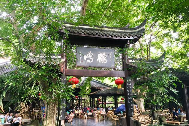 Visit Chengdu's People Park in China
