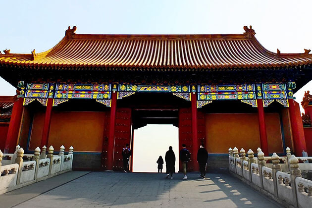 Visit Forbidden City in Family China Tour
