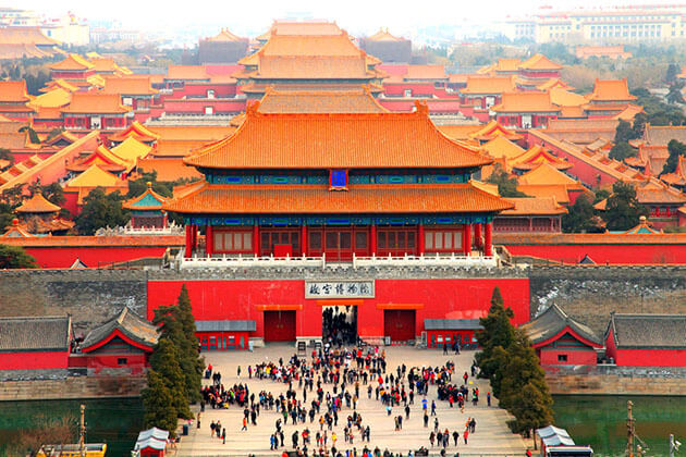 Visit Jingshan Park in Beijing