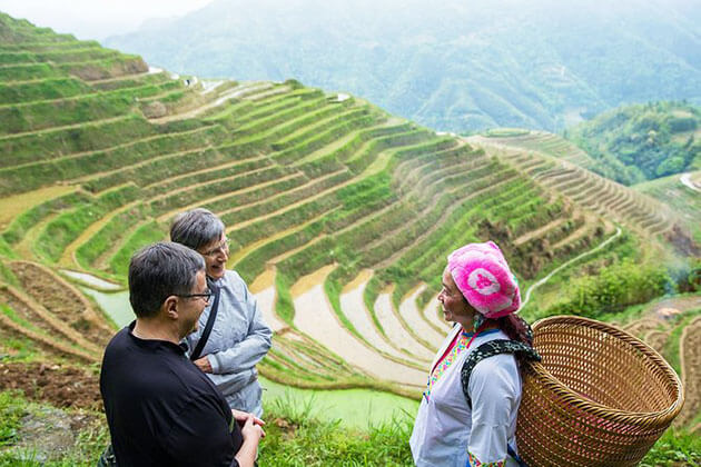 Visit Longji Rice Terraced Fields in Pingan Village