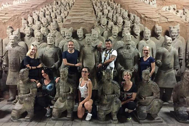 Visit Terracotta Army in China Classic tour