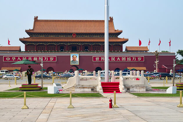Visit Tiananmen Square in China