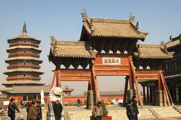 Visit Yingxian Wooden Pagoda in China