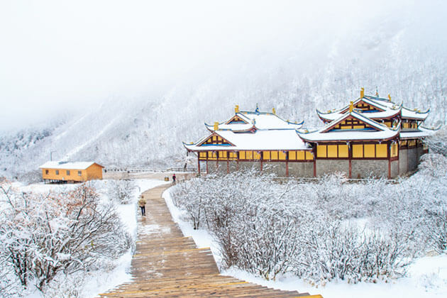 Winter time in China - China Trip