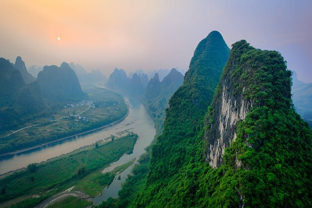 Xianggong Mountain -a best place to visit in Guilin
