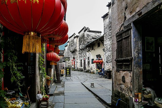 Xidi Ancient Village best attraction in Huangshan
