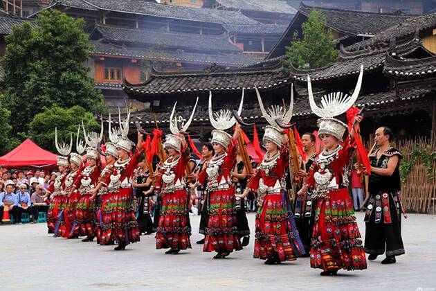 Xijiang Miao ethnic Village best place to visit in China tour