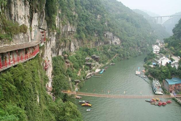 Xiling Gorge Yangtze River China