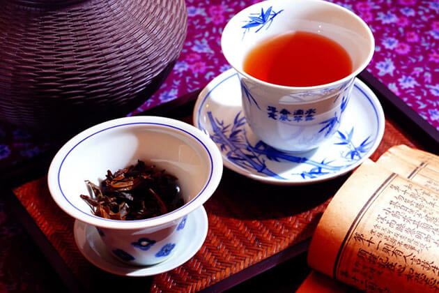 black tea - a must-try Chinese tea in China