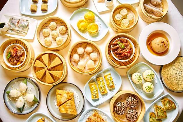 enjoy local cuisine in Guangzhou China