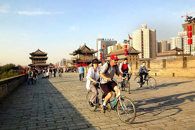 experience Xian City Wall with China Local Tours