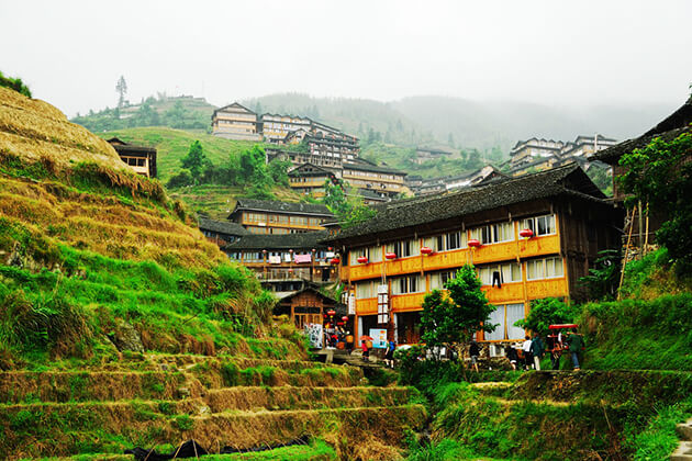 experience stunning view of Pingan Village from China tour