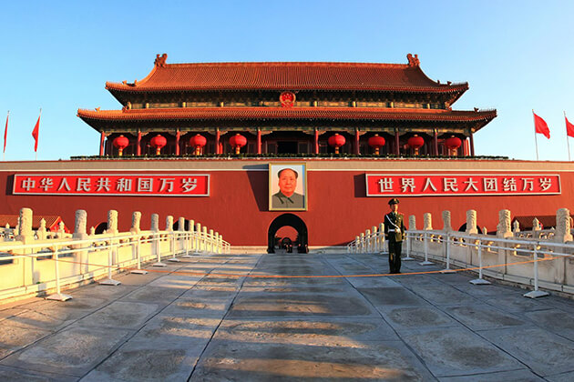 explore Tiananmen Square from China tour