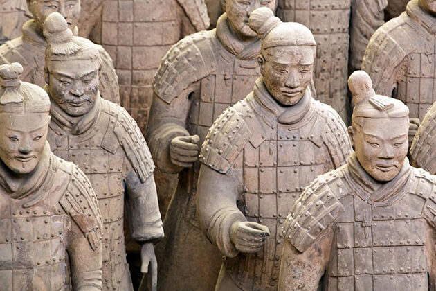 exploreTerracotta Army in Xian China
