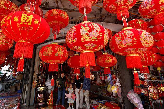 prepare for Chinese New Year