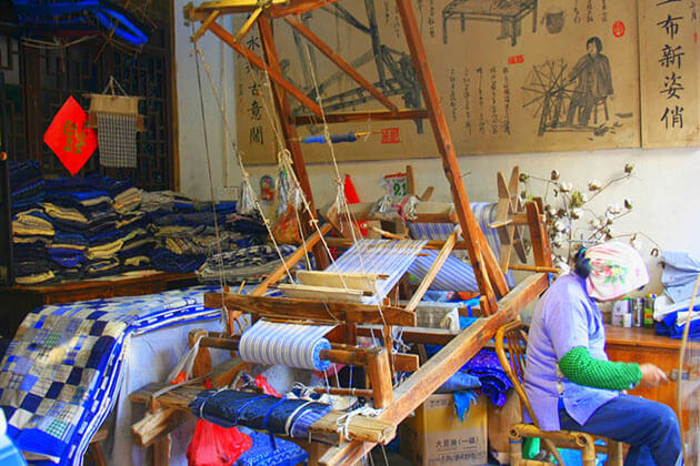 silk workshop in shanghai