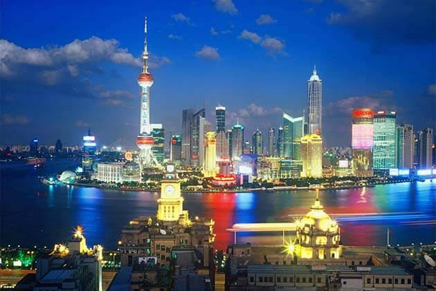 the Bund view in Shanghai