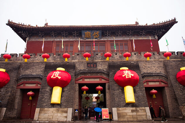 visit Dai Temple, Tai'an Daimiao from China tours