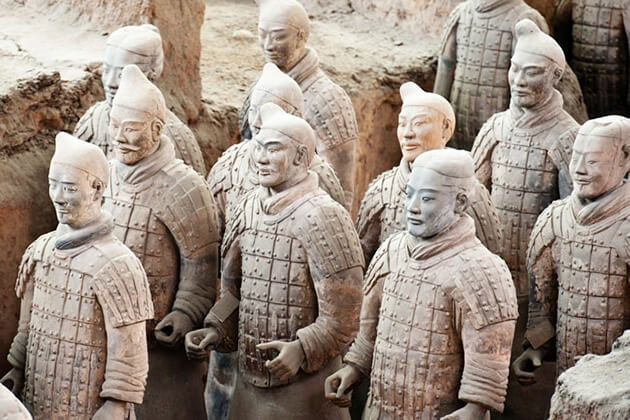 discover Terracotta Warriors from China tour package