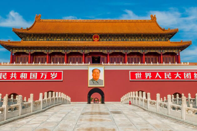visit Tiananmen Square in China tour